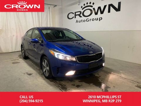 Pre-Owned 2018 Kia Forte EX Luxury/ ONE OWNER/ LOW KMS/ HEATED FRONT & REAR SEATS/ ANDROID AUTO/ BLUETOOTH