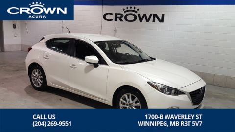 Pre-Owned 2014 Mazda3 GS-SKY **Hatchback ** Includes Winter Tires **