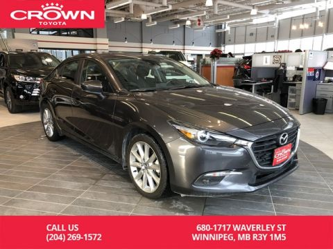 Pre-Owned 2018 Mazda3 GT / Crown Original / Accident Free / Low Kms