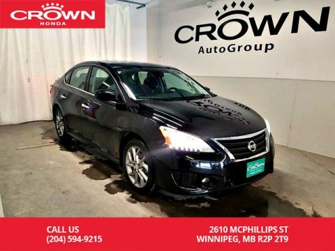 Pre-Owned 2015 Nissan Sentra SR/one owner/push start/ heated seats/ low kms