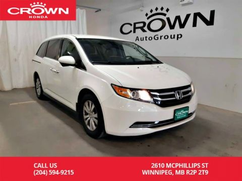 Certified Pre-Owned 2015 Honda Odyssey EX/ ONE OWNER/REAR ENTERTAINMENT SYS/8SEATER/LOW KMS/ PUSH START/ BACK UP CAM