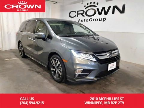 Certified Pre-Owned 2018 Honda Odyssey Touring/ NAVIGATION/ HEATED SEATS/ HEATED STEERING WHEEL/APPLE CAR PLAY/ REAR ENTERTAINMENT SYS/ ECON MODE/BACK UP CAM