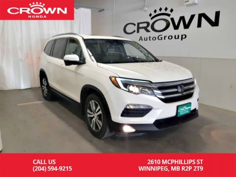 Pre-Owned 2016 Honda Pilot EX-L/ one owner/ 8 seater/ sunroof/ push start/ econ mode/ back up cam/ heated seats