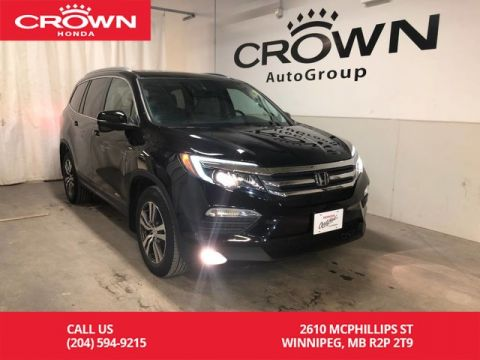 Pre-Owned 2016 Honda Pilot 4WD 4dr EX-L/ APPLE CARPLAY & ANDROID AUTO/ INFOTAINMENT TOUCHSCREEN DISPLAY/ MULTI-USB PORTS/