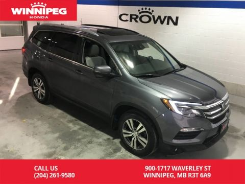 Pre-Owned 2016 Honda Pilot EX-L w/Navi/Sunroof/Lane watch/Heated seats/Power tailgate