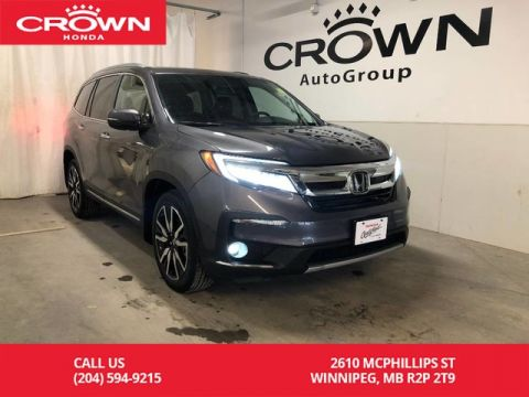 Pre-Owned 2019 Honda Pilot Touring 8-Passenger AWD/ HEATED FRONT SEATS/ APPLE & ANDROID AUTO/ REMOTE START/ BACKUP CAMERA