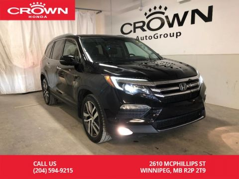 Pre-Owned 2016 Honda Pilot 4WD 4dr Touring/ ONE OWNER/ PANORAMIC SUNROOF/ HEATED SEATS/ BLUETOOTH/ BLU-RAY DVD