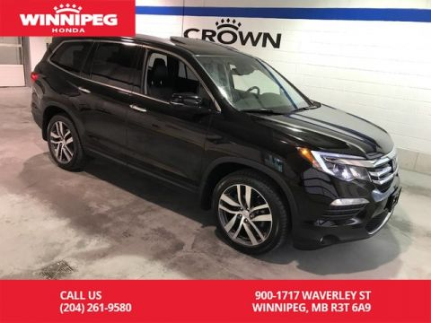 Pre-Owned 2017 Honda Pilot Touring/Bluetooth/Climate seats/Panoramic roof/Power tailgate