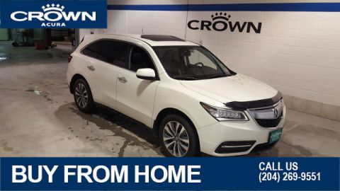 Certified Pre-Owned 2016 Acura MDX Navi SH-AWD **No Charge Extended Warranty** Navigation** 7 Passenger**