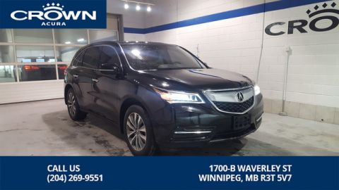 Certified Pre-Owned 2016 Acura MDX Navi Package SH-AWD **Includes No Charge Extended Warranty** 7 Passenger**