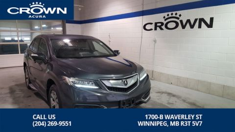 Pre-Owned 2016 Acura RDX TECH SH-AWD **Navigation** Includes Free Extended Warranty**