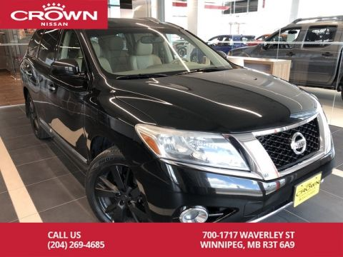 Pre-Owned 2014 Nissan Pathfinder Platinum 4WD V6 *Clean CarFax/Bluetooth/Navigation*