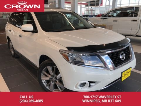 Pre-Owned 2016 Nissan Pathfinder Platinum 4WD V6 *Clean CarFax/Local Trade*