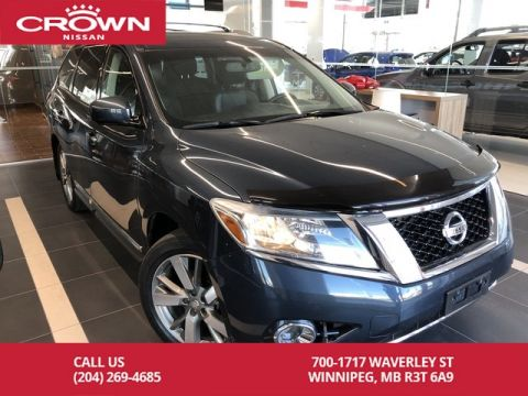 Pre-Owned 2014 Nissan Pathfinder PLATINUM AWD V6 *Navi/Bluetooth/Leather*