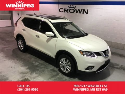 Pre-Owned 2015 Nissan Rogue SV/AWD/Sunroof/Heated seats/rear view camera