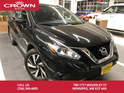 Pre-Owned 2017 Nissan Murano Platinum AWD *Bluetooth/Remote Start/Accident Free/Crown Original*