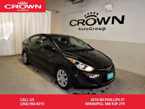 Pre-Owned 2016 Hyundai Elantra 4dr Sdn Auto GL/BLUETOOTH/HEATED SEATS/LOW KMS