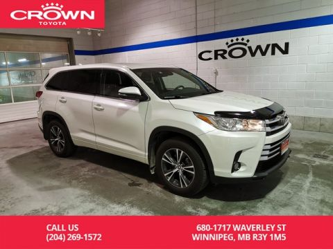 Certified Pre-Owned 2017 Toyota Highlander LE AWD Convenience Pkg / Crown Original / Clean Carproof / Lease Return / Low Kms