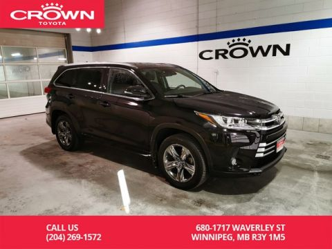 Certified Pre-Owned 2017 Toyota Highlander Limited AWD / Crown Original / Lease Return / Great Condition