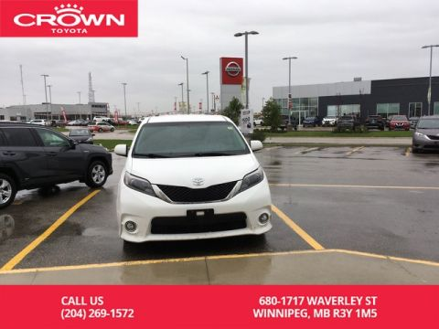 Pre-Owned 2015 Toyota Sienna SE 8-Pass / Crown Original / Leather / Lease Return / Great Condition