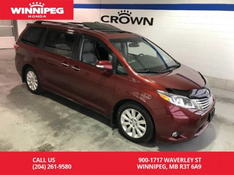 Pre-Owned 2015 Toyota Sienna Limited 7-Pass FWD/Bluetooth/Navigation/heated seats/rear view c