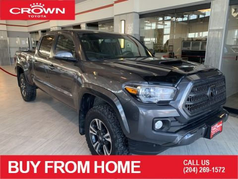 Certified Pre-Owned 2017 Toyota Tacoma TRD Sport | Local | 1 Owner | Lease Return | Certified