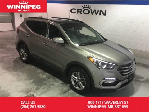 Pre-Owned 2017 Hyundai Santa Fe Sport Luxury/Heated steering wheel/Heated seats/Leather/Panoramic roof