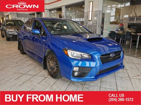 Pre-Owned 2016 Subaru WRX Sport-Tech | AWD | Local Trade | Winter Tire Package