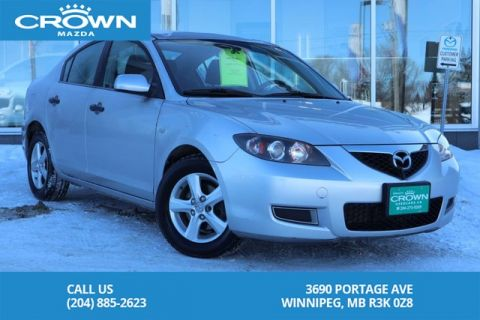 Pre-Owned 2008 Mazda3 GX Convenience Automatic *LOW KMS *LOCAL TRADE
