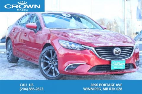 Pre-Owned 2016 Mazda6 GT Premium *BOSE AUDIO *LIKE NEW!