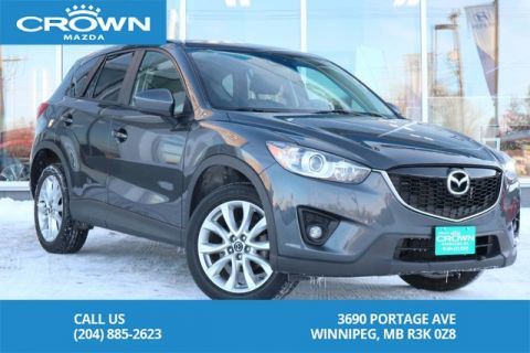 Pre-Owned 2015 Mazda CX-5 AWD GT *LOADED *BRAND NEW TIRES