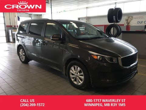 Pre-Owned 2018 Kia Sedona LX / Android Auto & Apple Carprplay / One Owner / Highway Kms / Great Condition