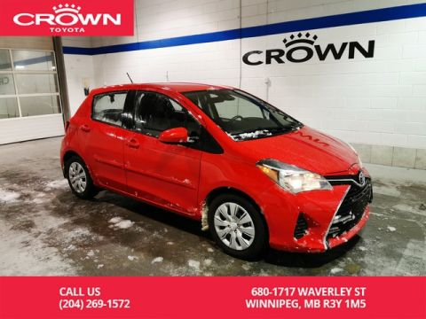 Certified Pre-Owned 2017 Toyota Yaris LE / One Owner / Lease Return / Great Condition / Toyota Safety Sense