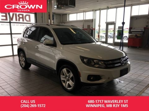 Pre-Owned 2014 Volkswagen Tiguan 4MOTION Highline / Clean Carproof / Leather / Great Value