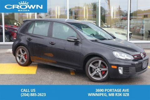 Pre-Owned 2011 Volkswagen Golf GTI GTI **One Owner**